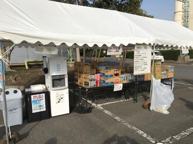 3月2日(土)に開催された新日鐵住金グループ光地区駅伝競走大会にドリンクスポンサーとして参加しました。飲料メーカーにご協力いただき、飲料ペットを無料配布しました。